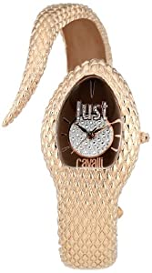 Just Cavalli Damen-Armbanduhr Poisson Analog Quarz Messing R7253153501