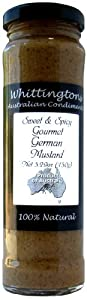 Whittingtons Sweet Spicy Gourmet German Mustard 529-ounce Pack Of 6 by Whittingtons