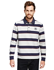 Blue Harbour Multi-Striped Rugby Shirt