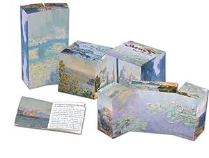 Monet Waterscapes 3-D Art Cube Puzzle