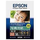 EPSON 写真用紙[光沢] A4 50枚 KA450PSKR