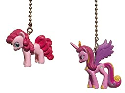 Set of 2 My Little Pony Decorative Ceiling Fan Light Pulls (Pinkie Pie and Princess Cadence)