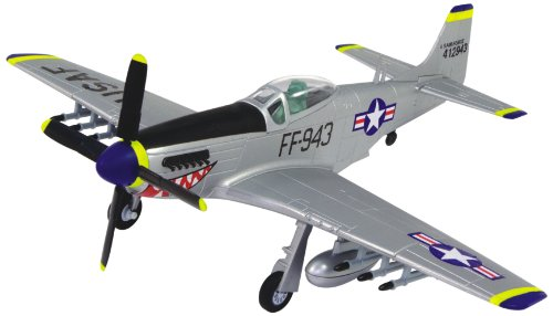 Famemaster Mustang F-51D 4D Puzzle - 1