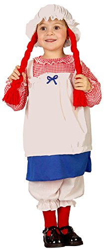 Forum Novelties Baby Boy's Lil' Rag Doll Toddler Costume, Multi, 1-2 Years - 1