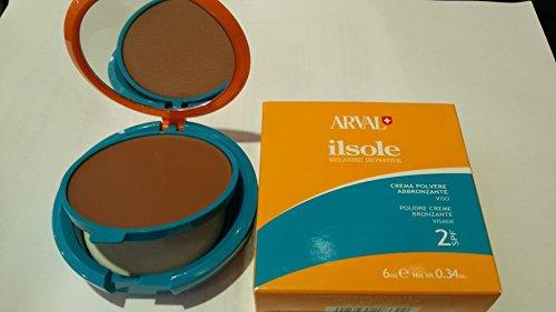 crema polvere abbronzante viso spf 2 Arval 6 ml