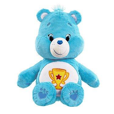 vivid-imaginations-care-bears-champ-bear-plush-toy-large-multi-colour