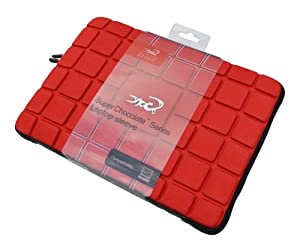 Croco CAS1825 Super Chocolate Carry Case/Sleeve for 13.3 inch Apple MacBook - Red