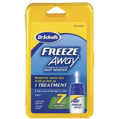Dr. Scholl's Freeze Away Common & Plantar Wart Remover, 7 ct.