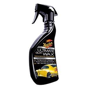 Meguiar's Ultimate Quik Wax 15.2oz Liquid Spray Bottle.