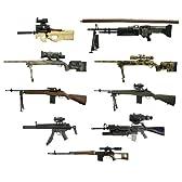 ホットトイズ ミリタリー - Modern Firearms 1/6 Collection Series 2 (1BOX=12ピース)