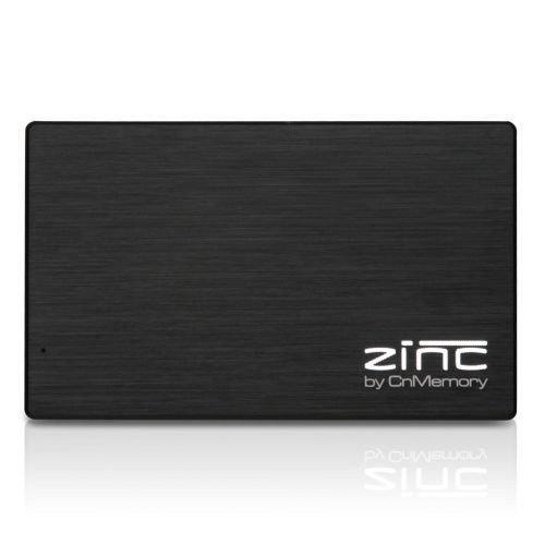 CnMemory CNMZINC250GB-BK Zinc externe Festplatte 250GB (6,4 cm (2,5 Zoll), USB 3.0) schwarz