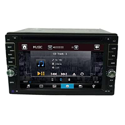 Nissan Navigation System Universal DVD Player 6.2