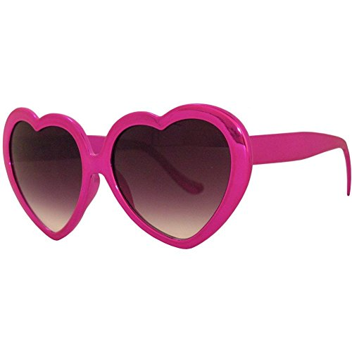 Love These Lolita Heart Shaped Sunglasses, Metallic Finishes!