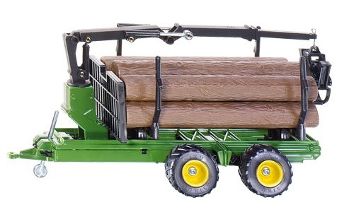 1:32 Forestry Trailer W/logs 3155 4006874031559 By Siku