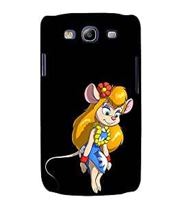 printtech Mouse Cartoon Back Case Cover for Samsung Galaxy S3 Neo / Samsung Galaxy S3 Neo i9300i