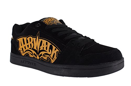 airwalk-mens-casual-skate-lace-up-padded-shoes-trainers-uk-9-triple-x-black-orange