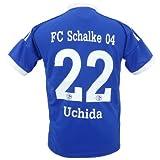 サッカーユニフォーム 12-14 シャルケ04 HOME ホーム 背番号 22 内田 篤人 Mサイズ hqh14-001-2014
