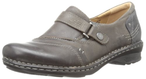 pictures of Earth Women's Beetlebug Wide Oxford,Dark Grey,6 W US