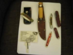 Erik Frost Mora , Sweden , Knife , Wood Handle , with Boy Scout Sheath