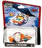 Disney Cars Star Wars Lightning Mcqueen as Luke Skywalker Disney Mattel 1:55 Scale Limited Edition
