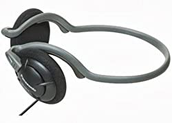 Panasonic Neck band Type Headphones-Black