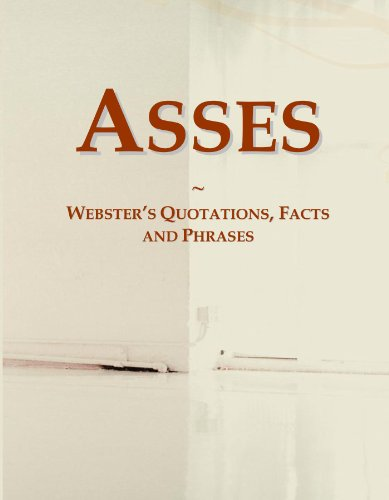 Asses: Webster's Quotations, Facts and Phrases