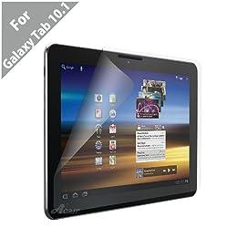 Acase(TM) AcaseView Screen Protector Films (Anti-Glare, Anti- Fingerprint, Matte) for Samsung Galaxy Tab 10.1 (3 Pack)