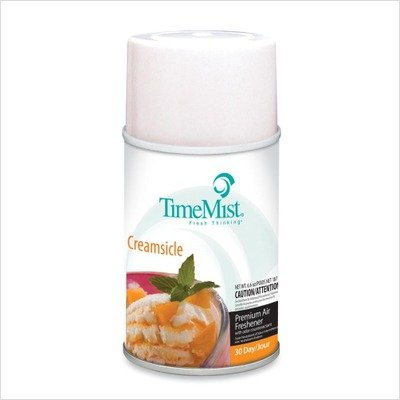 Timemist 33-2543tmca Air Freshener Refill Aerosol - 6000 Ft - 6.60 Oz - Creamsicle - 30 Day - Waterbury Companies