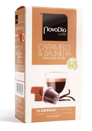 Buy Nespresso Compatible Capsules - CARAMEL & VANILLA - 10 caps / box (TOTAL: 60 caps) - Novo Dia Cafés, S.A. - Portugal