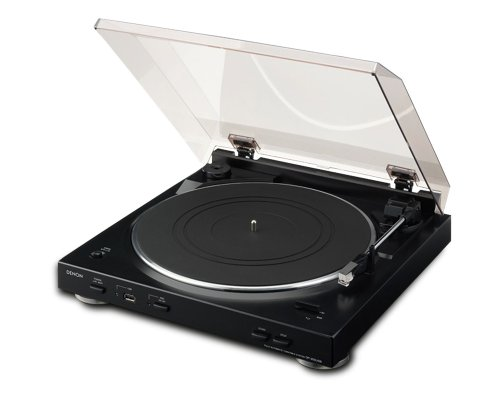 Denon DP-200USB Turntable - Black