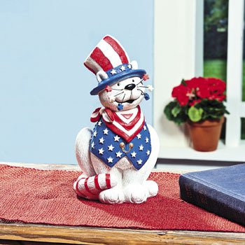 cute Fourth of july cat