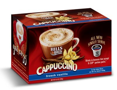Hills Bros French Vanilla Cappuccino Keurig K-Cups, 12 Count (Hills Brothers K Cups compare prices)