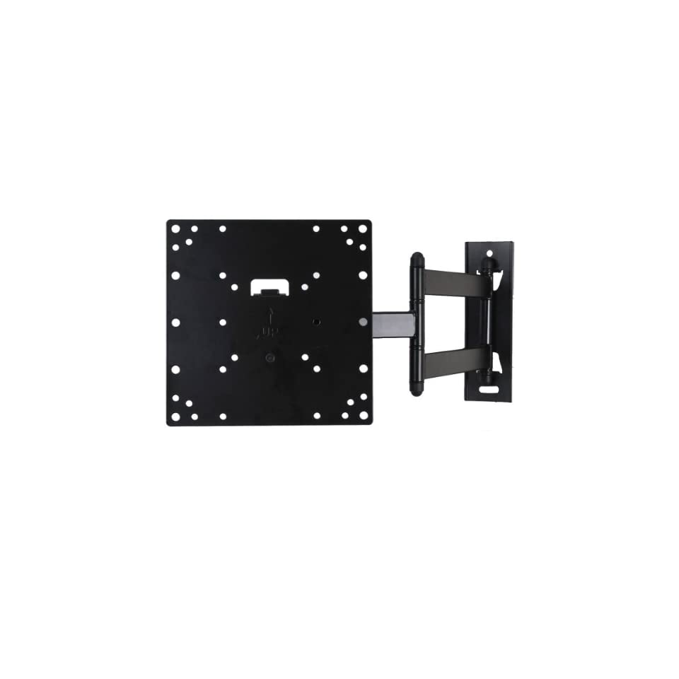 VideoSecu Tilt Swivel Low profile (1.9) TV Wall Mount Bracket for most 23 37, some LED up to 42 with VESA 200x200 200x100 100x100 LCD LED Plasma TV or Monitor, Articulating arm (20 extension) 3KB