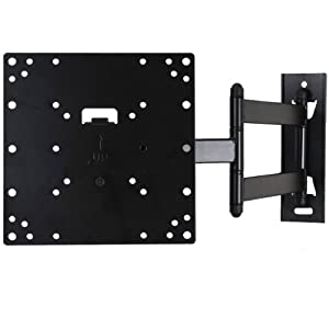 """VideoSecu Tilt Low profile (1.9"""") TV Wall Mount Bracket for most 23""""-37"""", some LED up to 42"""" with VESA 200x200 200x100 100x100 LCD LED Plasma TV or Monitor, Articulating arm (20"""" extension) full motion Swivel Swing Rotation 3KB"""