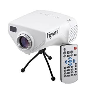 Vigrand 2013 latest projector 50 ansil lumens for Mini projector for ipad best buy
