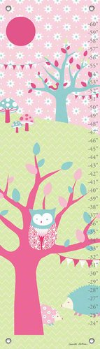 Oopsy Daisy Forest by Annette Tatum Growth Charts, 12 by 42-Inch