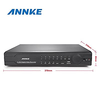 Annke 8CH AHD-720P Security Camera System+8 HD 720P CCTV Cameras