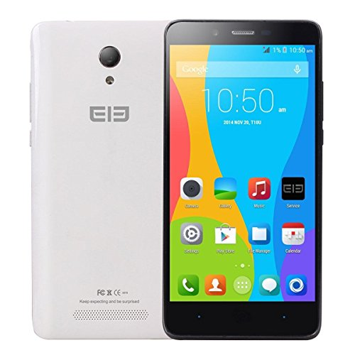 5.0″ Elephone P6000 MTK6732 64-bit Quad Core 2GB/16GB Android 4.4 Mobile Phone(White)