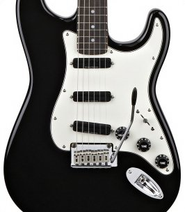 Squier by Fender スクワイア エレキギター Deluxe Hot Rails Stratocaster Black