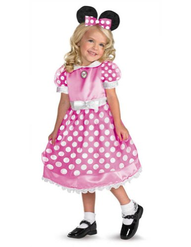 Clubhouse Minnie Pink Smtoddler Costume 2T - Toddler Halloween Costume
