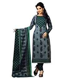 Airfashion Women's Unstiched Dress Material (SG-724_Multi_Free Size)