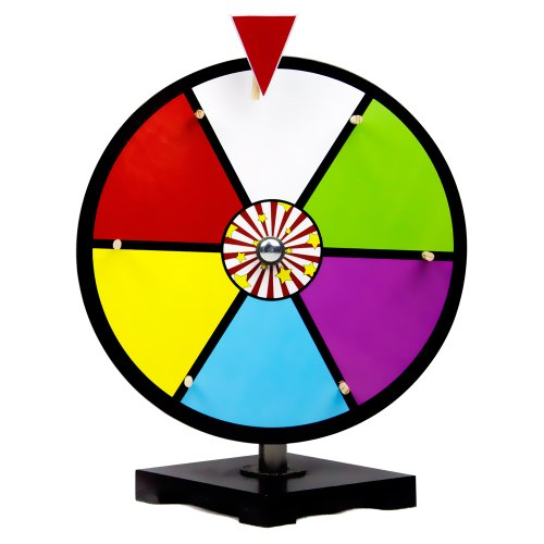 Purchase 12 Inch Color Dry Erase Prize Wheel By Midway Monsters