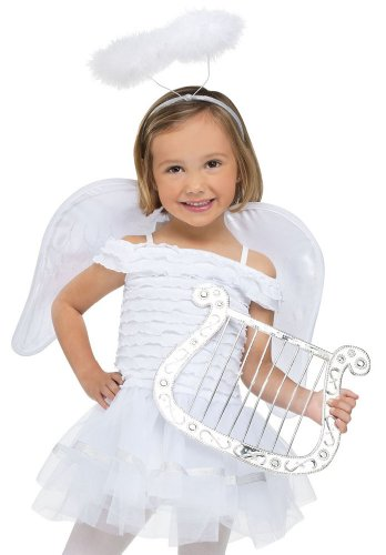 Fun World Costumes Baby Girl's Little Angel Toddler Costume