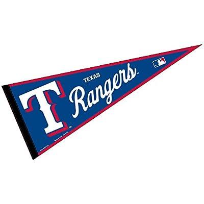Texas Rangers MLB Large Pennant