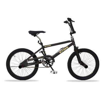 KYUZO キュウゾウ KZ-106 フリースタイルタイプBMX自転車 マットブラック(艶消し黒)