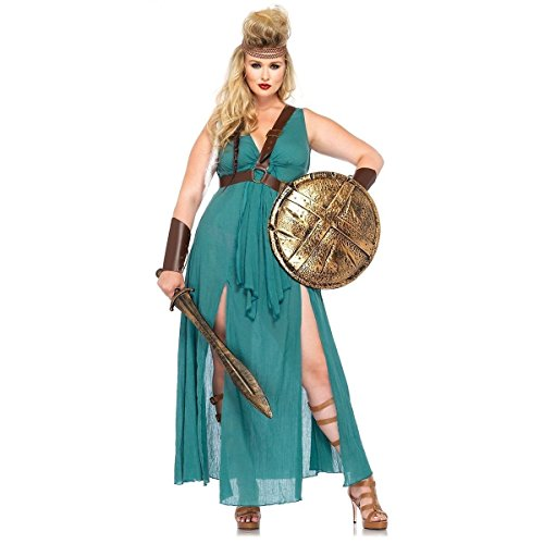 [GSG Huntress Costume Game of Thrones Sexy Warrior Medieval Halloween Fancy Dress] (Plus Size Ballerina Costumes)