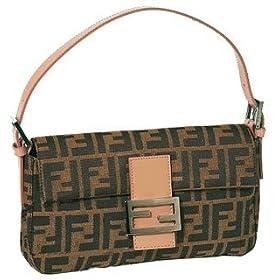 Fendi Handbag 8BR000 Zucca Pink