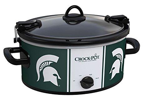 Crock-Pot NCAA 6-Quart Slow Cooker, Michigan State Spartans (Crockpot Corn compare prices)