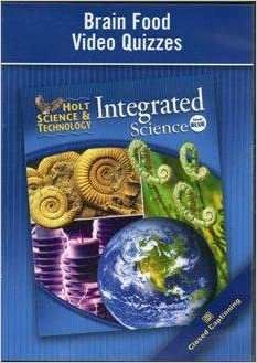 Brain Food Video Quizzes (Holt Science & Technology ...