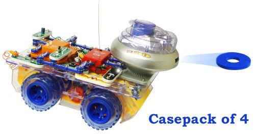 Scrov-50/Cs4 (Casepack Of 4) Elenco Electronics Snap Circuits Deluxe Snap Rover